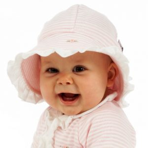 Pretty N Pink - Frilled Sunhat